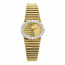 Chopard Ladies 18K Gold Diamond Watch 5052 1 (Pre-Owned)