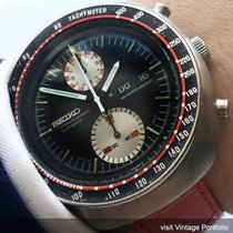 Seiko Great Seiko Day Date Chronograph in Racing Style Vintage