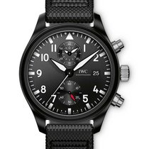 IWC IW389001 Pilots Chronograph - Top Gun in Black Ceramic -...
