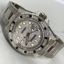 Rolex - GMT MasterII 116759 White gold W/G+Diamond Bezel
