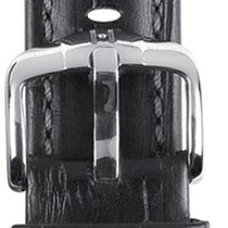 Hirsch Uhrenarmband Grand Duke L schwarz 02528051-2-20 20mm