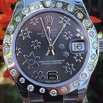 Rolex Ladies Midsize 31mm Datejust Floral 178240 Random...