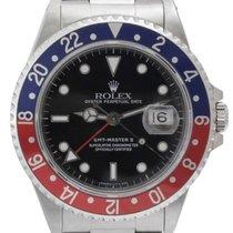 Rolex GMT-Master II Men's Steel Watch, Blue and Red...