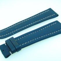Breitling Utc Band 22mm Kalb Blau Blue Strap Correa Für...