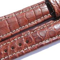 Breitling Band 22mm Croco Brown Marron Braun Strap Ib021
