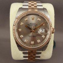 Rolex Datejust steel/pink gold jubilee 116231 Diamond dial  /...