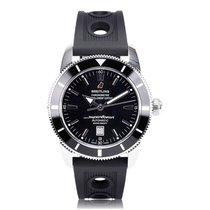 Breitling Superocean Heritage 46mm Black Strap Mens Watch...