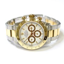 Rolex Zenith Daytona 40mm 18K Gold and Stainless Steel Mens...
