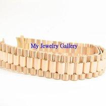 勞力士 (Rolex) Aftermarket 18k Rose Gold Bracelet Band for Ladie...