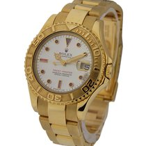 Rolex Used 68628_used_sertie_ruby Yachtmaster Mid Size Yellow...