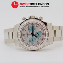 勞力士 (Rolex) Rolex Platinum Cosmograph Daytona Baguette Diamonds