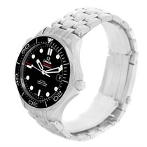 Omega Seamaster Black Dial Watch 212.30.41.20.01.003 Box Papers
