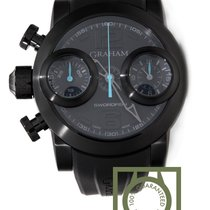Graham Swordfish Booster Chronograph 48mm PVD NEW