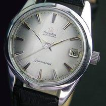 Omega Seamaster Automatic Date Steel Mens Wrist Watch 14763 SC 61