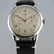 Lemania 1950s Lemania 105 Oversize Chronograph
