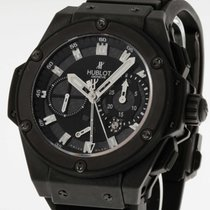 Hublot Big Bang Black Magic King Power Split Second Limited...