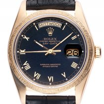 Rolex Day Date Rindengravur 18kt Gelbgold Automatik Armband...