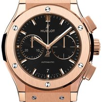 Hublot Classic Fusion 42mm Automatic Chronograph King Gold