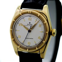 Rolex Vintage Oyster Chronometre Bubble Back Ref-5015 14k...
