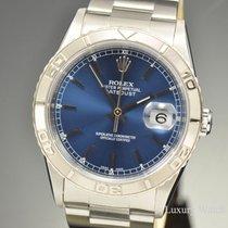 Rolex Datejust Thunderbird Turn-O-Graph Blue Stick Dial 16264