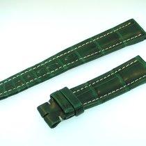 Breitling Band 18mm Croco Grün Green Verde Strap Für Dornschli...