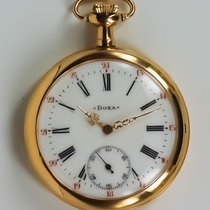 Doxa Open face Gold Filled Pocket Watch