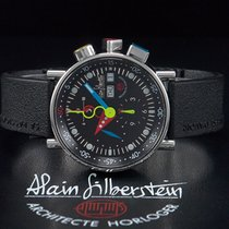 "Alain Silberstein Krono Bauhaus 2 ""NOIR"" Chronograph..."