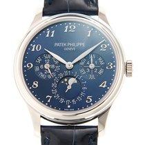 Patek Philippe Grand Complications 18k White Gold Blue...