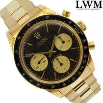 Rolex Cosmograph 6241 / 6239 Daytona black dial gold 18KT Full...