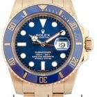 Rolex Submariner Date 18ct Yellow Gold 116618LB
