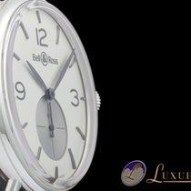 Bell & Ross Vintage Argentium Opalin Silber mit Opalinglas...