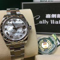 Rolex Cally - Datejust 31mm Lady 178344 White NRVI 貝殼面(Oyster)
