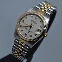 Ρολεξ (Rolex) Datejust 68273 Midsize 31mm Gold Steel Fluted 3D...