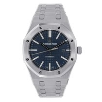Audemars Piguet AP Royal Oak 41 Boutique Exclusive Watch Blue...
