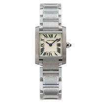 Cartier Tank Francaise Steel Ladies Watch