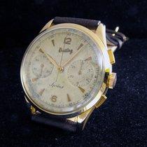 Breitling Sprint  vintage 18 kt. Pink Gold case