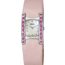 Ebel 9057A28/1998035530 Beluga Manchette in Steel with Pink...