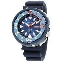 Seiko Prospex Blue Dial Silicone Strap Men's Watch Srpa83