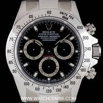 Rolex S/Steel Black Dial Cosmograph Daytona Gents B&P 116520