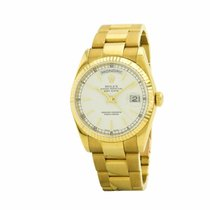 Rolex Day-date 118238 36mm 2001 18k Yellow Gold Men's