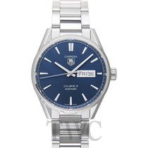TAG Heuer Carrera Calibre 5 Day-Date Automatic Blue Steel 41
