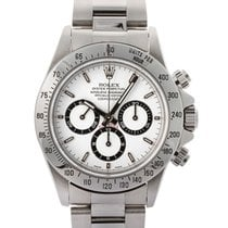 Rolex Daytona Mov. Zenith W Serial 40mm In Acciaio Ref. 16520