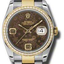 Rolex Date, Ref. 116243 - bronze floral arabisch ZB/Oysterband