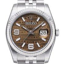 Rolex Datejust 36mm Stahl/Weißgold 116234