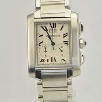 Cartier Tank Francaise Chronograph Date W51024Q3 STYLE 2653