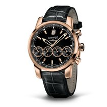 Eberhard & Co. Chrono 4 Grand Taille oro rosa, quadrante...