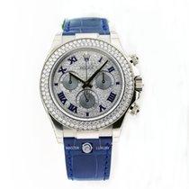 Rolex 116589RBR Pave Roman Dial Diamond Bezel