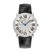 Cartier Ronde Manual Mens Watch Ref WR007004
