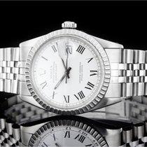 Rolex Datejust (36mm) Ref.: 16030 mit Zifferblatt in Weiss aus...