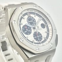 Audemars Piguet AP Royal Oak Offshore 44mm Stahl White Edition...
